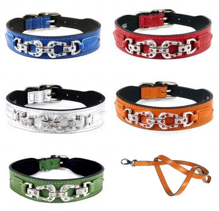 Bedazzled Dog Collars