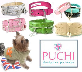 puchi designer collars for dogs